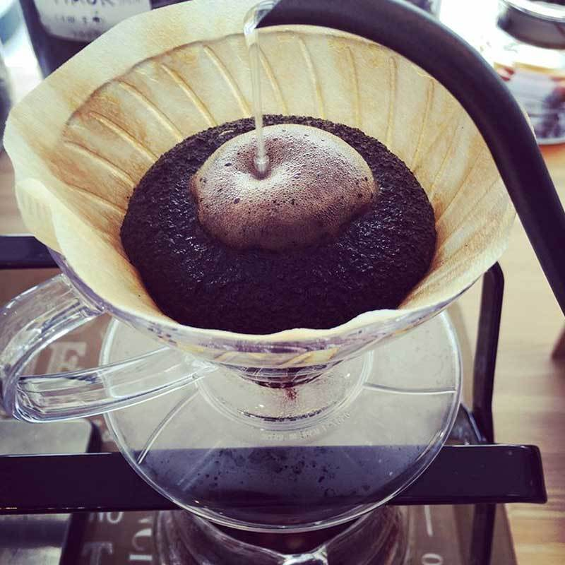 O autêntico café torrado Maruki