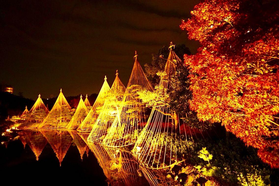 Iluminação do Shirotoriteien (Jardim do Cisne)