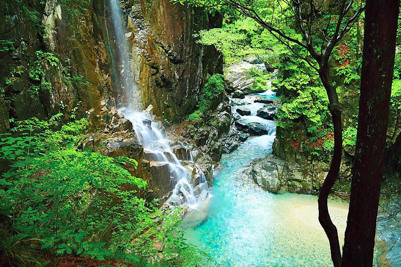 付知峡 na província de Gifu-ken
